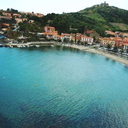 The cove from the cliffsSea Water The Great Outdoors - 2016 EyeEm Awards Water Reflections Collioure Mediterranean  Frame It! Travel Beach France S Qi French Coast Novice Photography