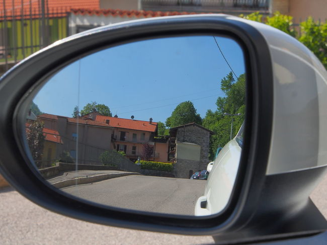 BYOPaper! Car Close-up Day Land Vehicle Mirror Mode Of Transport Nature No People Outdoors Reflection Road Side-view Mirror Sky Transportation Tree Vehicle Mirror