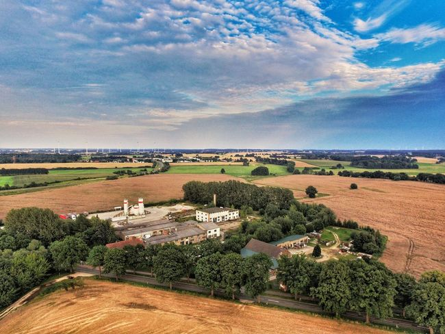 Agriculture Cloud - Sky Nature Day Outdoors No People Landscape Prignitz Phantom 3 Sky From The Sky Aerial Shot Dronephotography Drone  Phantom Aerial View Brandenburg Droneshot Germany Perspectives On Nature