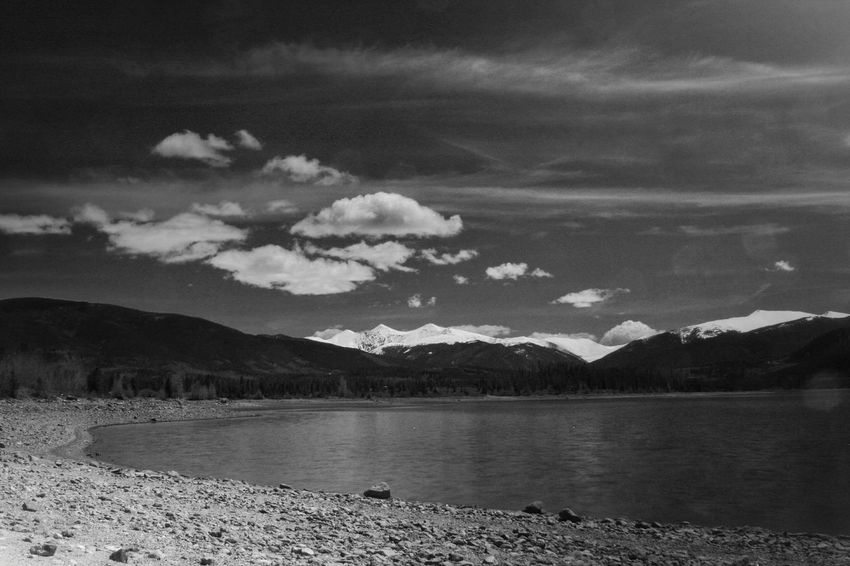 Blackandwhite Black And White Black & White Landscape Mountains Water Lake