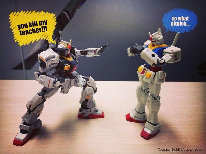 Gundam Figthing by P4lsoe