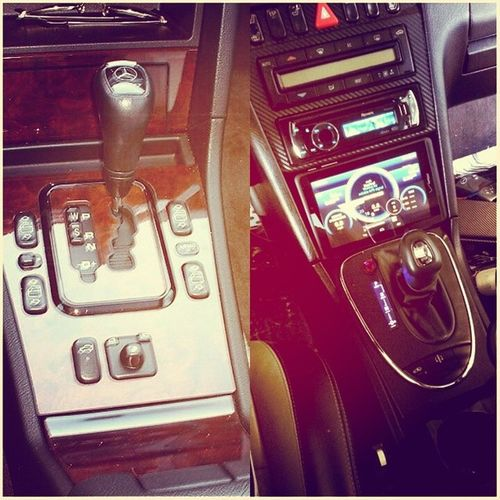 Before & After Pictures of My almost finished Customized center console on my Benzo C43 W202 W202gram benzoproject killer fastlife racecar customized AMGPetronas custominteriour mansory dagestance Vancouver bunker BPan eurostance