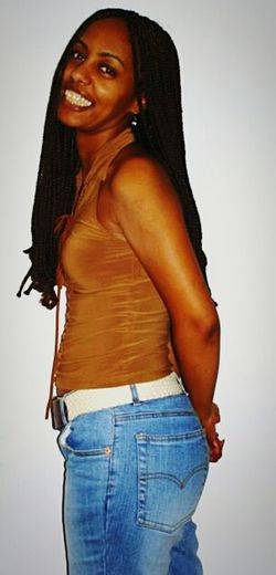 Portrait Beautiful ♥ Lady EyeEm Smile Braids