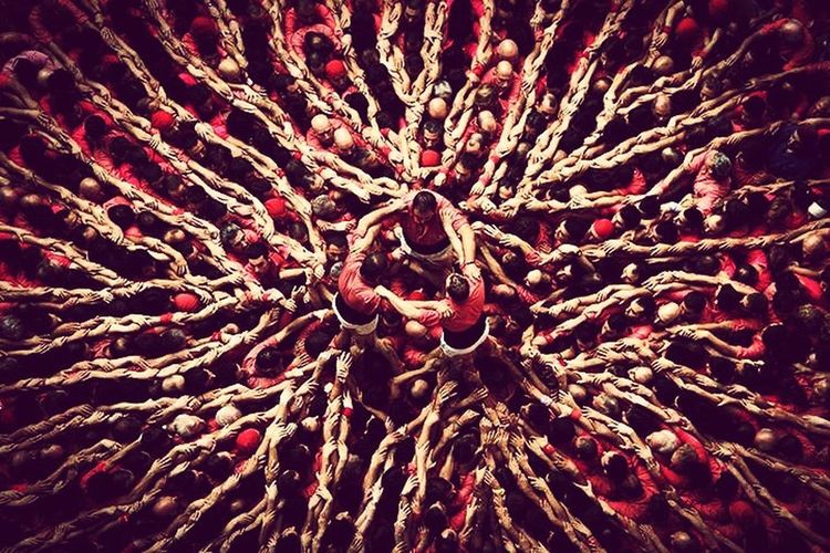 Human Towers Castells Pinya HumanTowers Emotion Emotional Photography Textured  Full Frame FUJIFILM X-T1 Fujifilm 3d10 Catalanculture Catalonia Is Not Spain Ig_worldclub Catalunyaexperience Igworldclub Catalunya Catalonia
