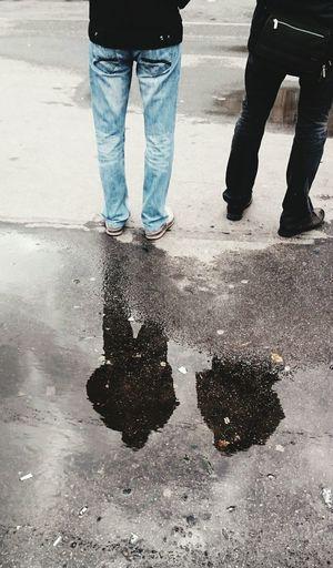 Streetphotography Man Piter  Saint-Petersbourg Street Lovely City Morning Rain