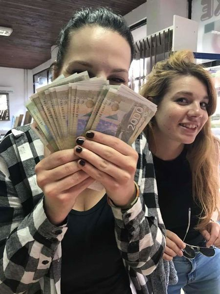 Money On My Mind Young Women Business Finance And Industry Friendship Rich Richpeople