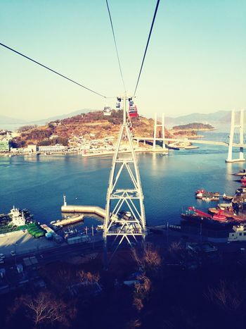 South Korea Jellanam-do Yeosu Cable Car