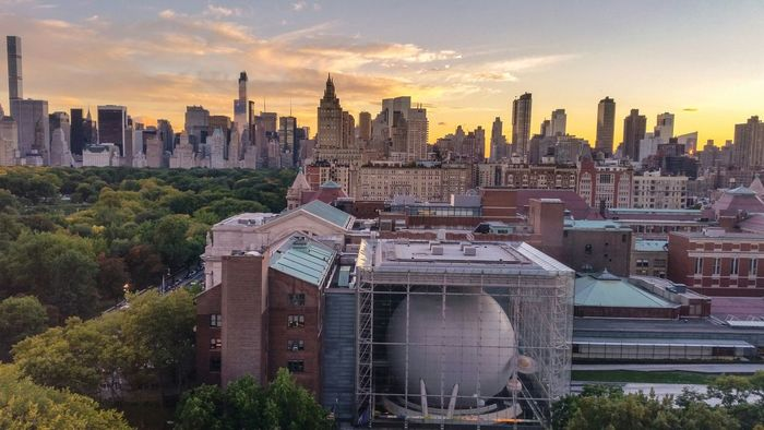 I Love My City Skyline Sunset American Museum Of Natural History NYC Photography Fromrichfolksbalconies