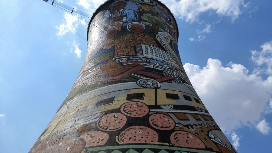 SOWETO. Township Soweto Towers Soweto South Africa Silos Amazing View Outdoors Travel Nelson Mandela Drawing ArtWork Art, Drawing, Creativity