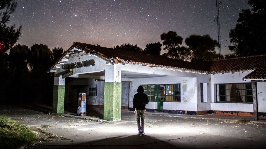 Automóvil club argentino abandonado Architecture Outdoors Night Star - Space Milkywaygalaxy OneMan Lost Photography Photooftheday First Eyeem Photo