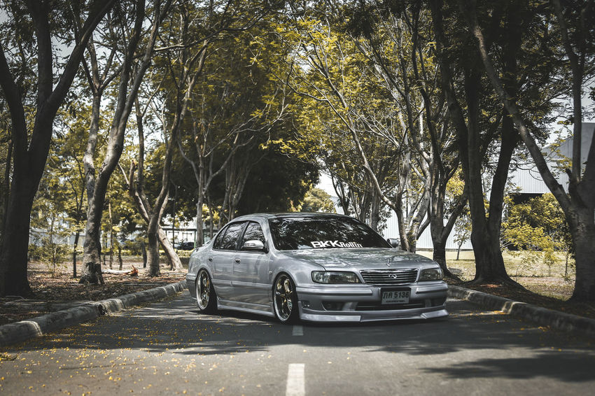 Infiniti Parking Car Cars Park Nissan Cefiro Automotive Photography 9togethers Daily Driven Dropped BKKRollin Good Day Enjoying Life Arts And Crafts Lowered