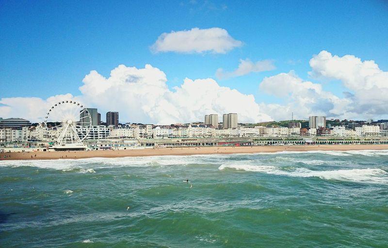 Love it!? Brighton England Uk GB Hi! Holidays Summer TBT  Sea Love