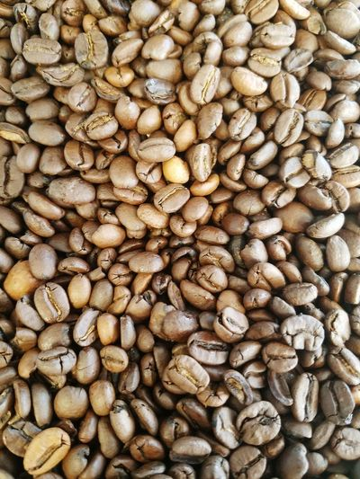 Close-up Coffee Beans Brown