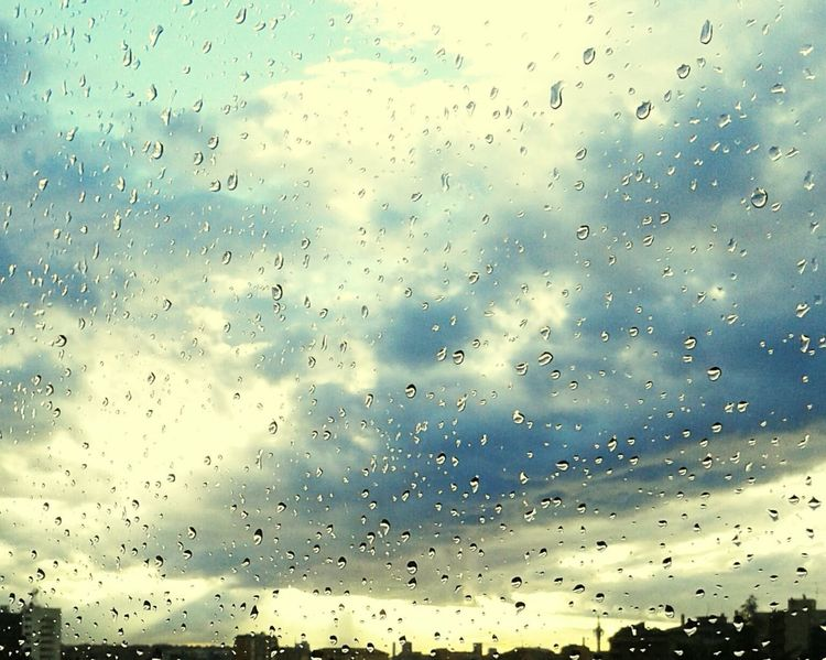 drop window sky raindrop cloud - sky water day indoors Window View Rainy Days Rain Drops Sun Clouds And Sky Malinchonic Landscape