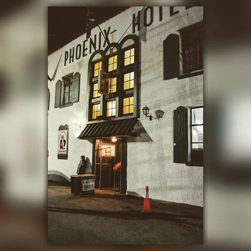 Most Retro and Awesome place in Port Elizabeth. ♡ The outside view of the building. Happytimes Ohhappydays Retro HotelAnsResturant Old StageDoorPheonixHotel Amazingfood Buildings Loadsoffun Happyplace Portelizabeth Southafrica