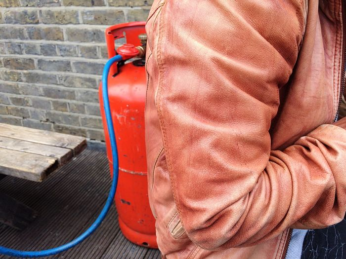Leather Leather Jacket Jacket Firefighter London Pmg_lon