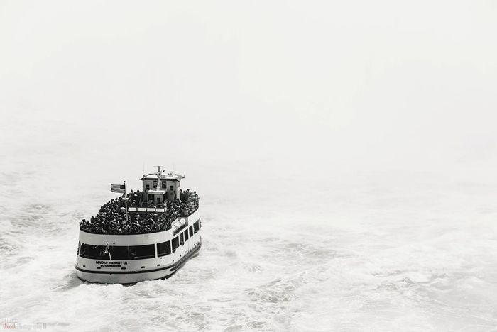 Sea of nothing Sea Nautical Vessel Water Outdoors BYOPaper! EyeEm Best Shots - Landscape Waterfall NOthIng White Eyeem Photo Of The Week EyeEm Best Shots EyeEm Selects