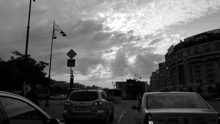 morning in Bucharest