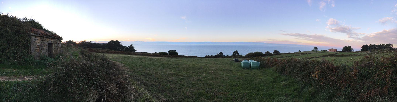 Nature Sky Panoramic Sunset Sea