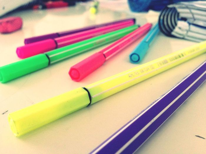 Colours #school  Stabilo