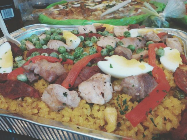 Paella for tonight ? Dinner Time Hanging Out Foodtography Food Porn