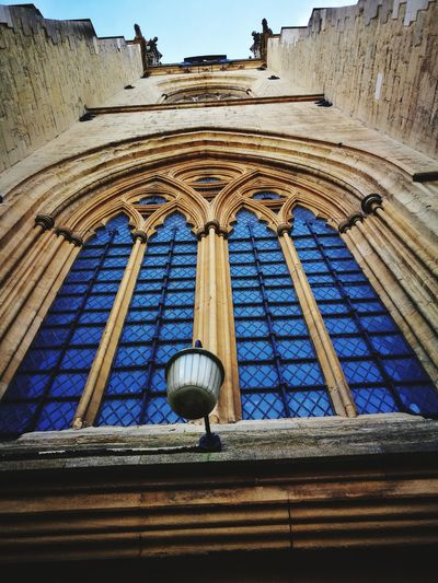 Just awesome Low Angle View Architecture Built Structure Day Window No People History Religion Blue Place Of Worship Travel Destinations Building Exterior Outdoors
