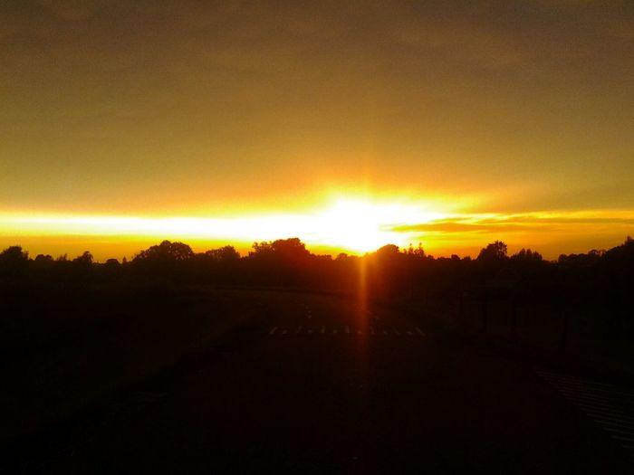 Sunset @ My Backyard No Edit