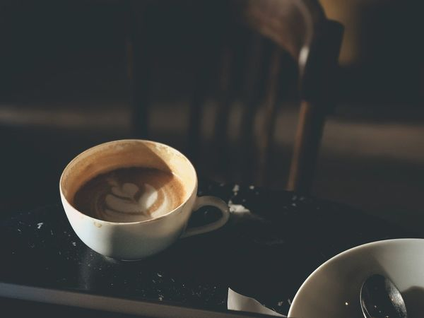 Quiet Quiet Moments Mediation Food And Drink Table Drink Coffee Cup Coffee - Drink Refreshment Indoors  Close-up Cappuccino Frothy Drink