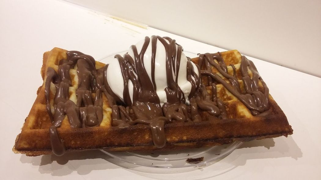 Delicioso Waffle Waffles And Icecream Waffleicecream Icecreamwaffle Icecream Nutella Nutella Time Waffle Time Wafflelicious Waffle Lover