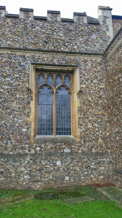 Leaded Windows Leaded Glass Flint Stone Wall Chelmsford Cathedral Architectural Detail Stone Medieval Architecture Church Window Battlements