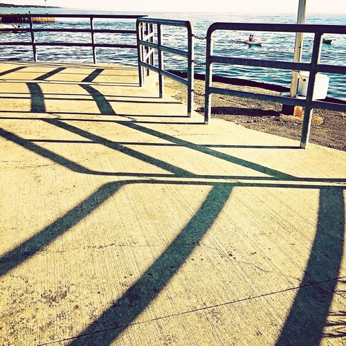 Shadows Pier Lake Michigan Enjoying Life Taking Photos Longwalk Lake View Michigan Pure Michigan