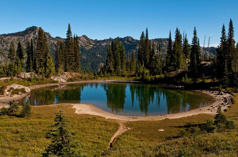 Unnamed lake at