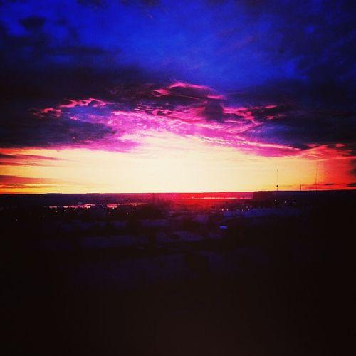 Прекрасное утро, красивое небо и отличное настроение??✌