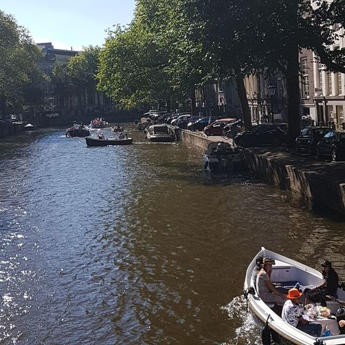 Amsterdam Amsterdamcity Amsterdam Canal Canal Canals And Waterways Travel Writing Water Tree Nautical Vessel Accidents And Disasters River Sky Boat Water Vehicle Sailing