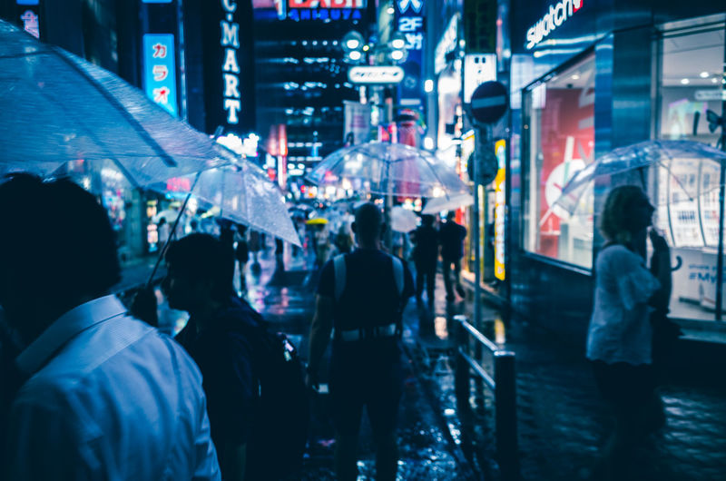 Shibuyascapes ◀️ ◀️☔️🚶🌃🇯🇵 Cinematic Photography Cyberpunk Night View Atmospheric Mood Umbrella EyeEm Best Shots Street Photography Fine Art City Crowd EyeEm Best Edits Perspective Illuminated Travel Night Outdoors People Blade Runner Battle Of The Cities On The Way Rainy Days Japan Tokyo Shibuya The Week On EyeEm Mobility In Mega Cities HUAWEI Photo Award: After Dark Humanity Meets Technology My Best Photo