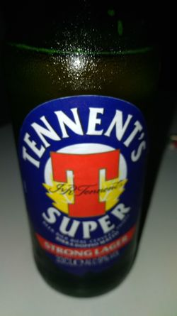 Tennents Beer Beer - Alcohol Communication Drink Text Close-up