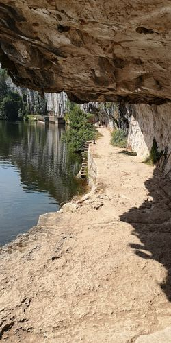 Coves Stones & Water Stonestructures Stone Wall Water Sand Sunlight Calm