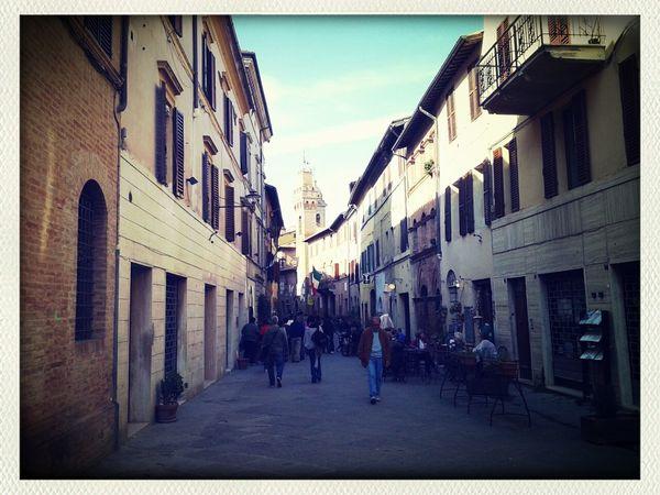 Italy Tuscany Taking Photos Enjoying Life
