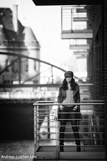 Hamburg Stories Hamburg Model Monochrome Portrait Woman Fashion People