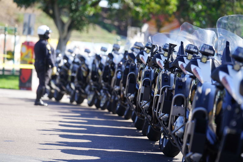 Cycle Law And Order  Motorcycle Police Adult Authority Day Helmet In A Row Marching Men Military Parade Moto Officers Officers Quarters Outdoors People Police Police Enforcement Police Motorcycles Police Uniform Policia Protection Real People Teamwork Uniform