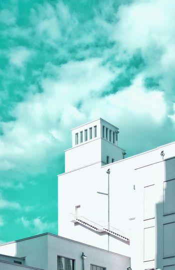 Reveries Cityscape Villeurbanne Gratte Ciel Turquoise Architecture Architectureporn