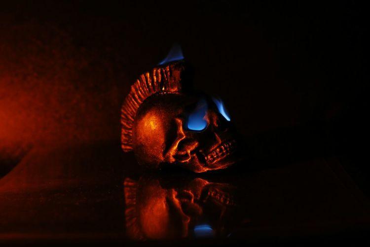 Skull Flames