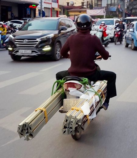 Hanoi, Vietnam Street Photography Only In Vietnam The Courier Delivery Man No Such Thing As Cant
