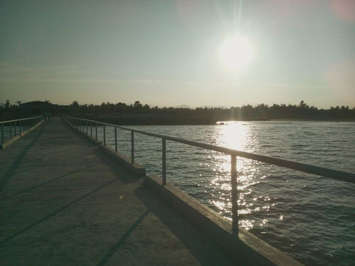 Sunlight| Pier |Outdoors| No People| Landscape | No People | |travelPh