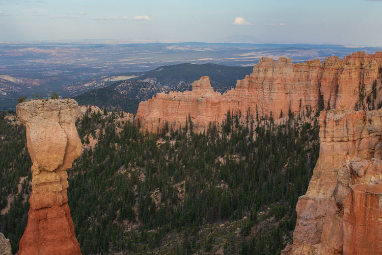 Bryce Canyon at sunset Nature No People Travel Destinations Rock Beauty In Nature Bryce Canyon Utah Sunset Travel Rock Formation Mountain Scenics - Nature Canyon Environment Tranquility Non-urban Scene Tranquil Scene Geology Solid Rock - Object Tourism Landscape Outdoors Eroded Formation