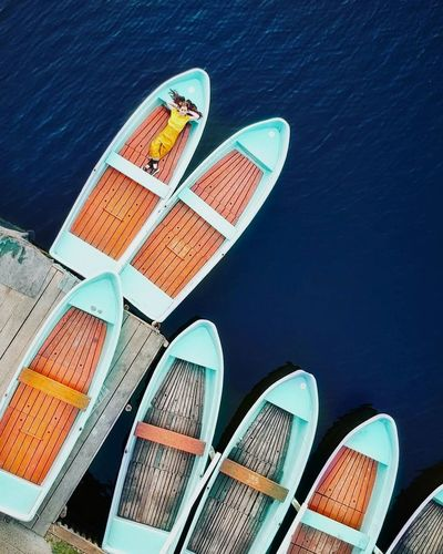Girlhood Boats Dronephotography Dji Girl Teenager Summer EyeEm Best Shots EyeEm Selects WeekOnEyeEm Bestoftheday Photooftheday EyeEmBestPics Water Multi Colored The Portraitist - 2018 EyeEm Awards The Creative - 2018 EyeEm Awards The Traveler - 2018 EyeEm Awards