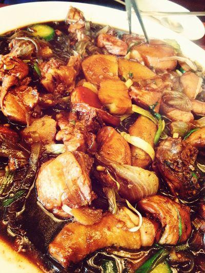 찜닭 Jjimdak Braised Spicy Chicken With Vegetables Korean Food