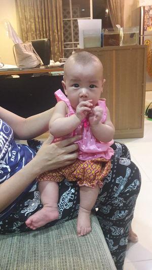 Baby Babies Only Babyhood Indoors  Diaper Full Length One Person Holding Cute People Sitting Lifestyles Newborn Portrait Day Adult ไทยแลนด์ เด็กน้อย Thailand