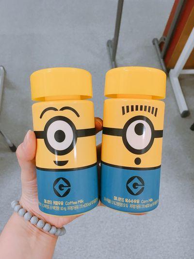 Minions Minion  Milk Minion_milk Corn Corn Milk Coffeemilk GS25 Soooocute