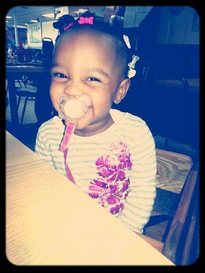this little girl means the world to me #FavoriteLittleCousin ♥